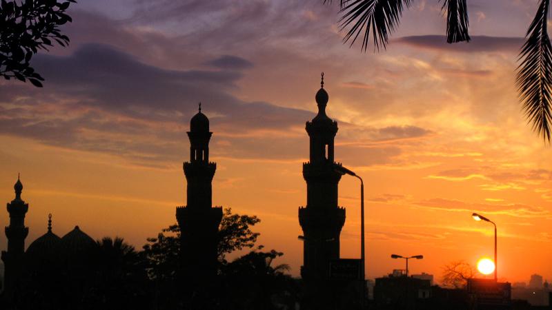 cairo-minarets-sunset