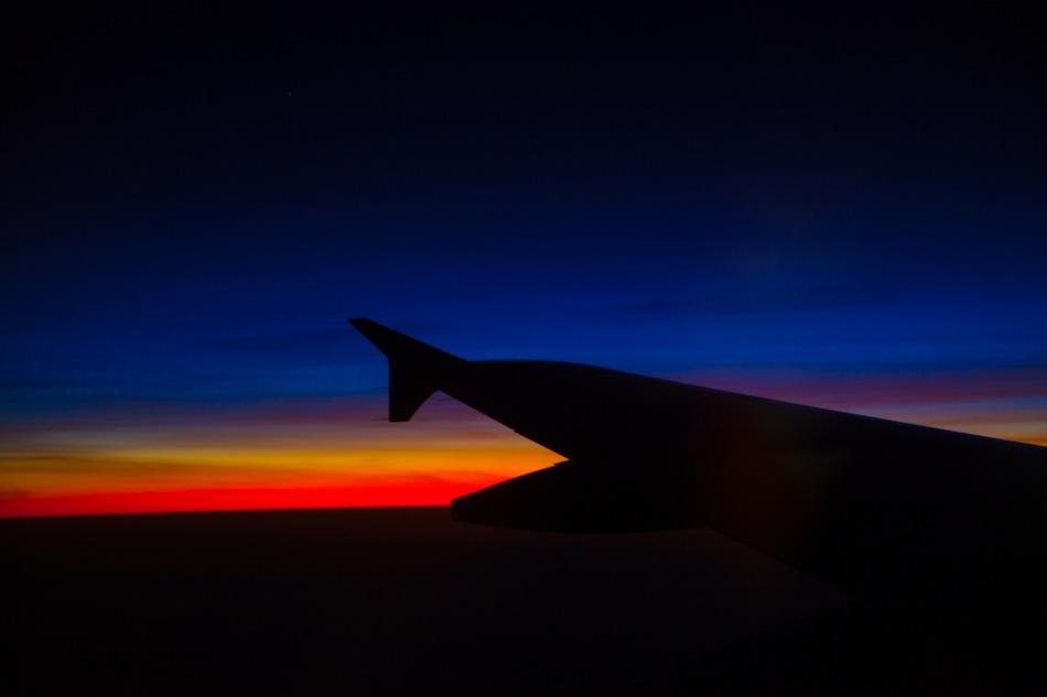 flight_sunset